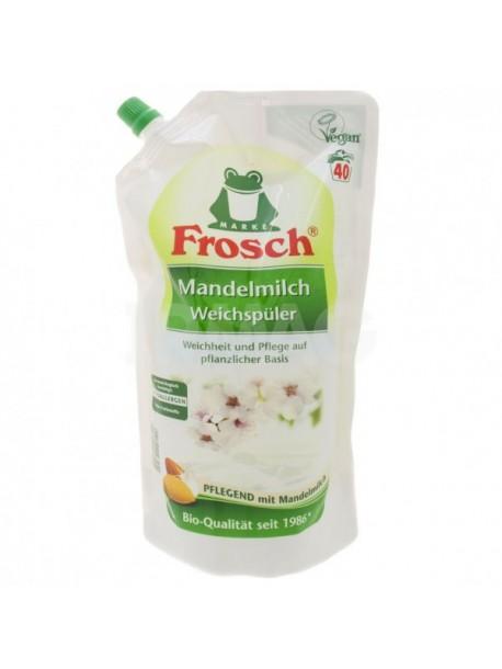 Frosch Pflege Weichspuler Mandelmilch.Кондиционер-ополаскиватель для белья «Миндальное молочко» Frosh, 1 л.