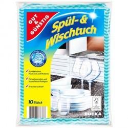 Салфетки Gut&Gunsting Spul-&Wischtuch 10шт.
