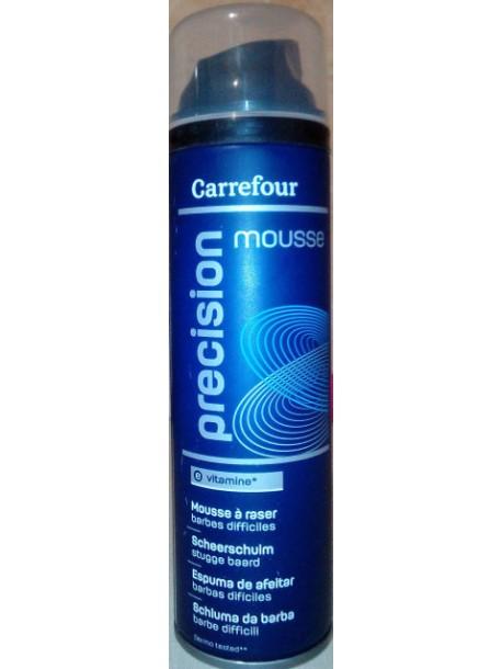 Пена для бритья Carrefour Precision Mousse 250 ml
