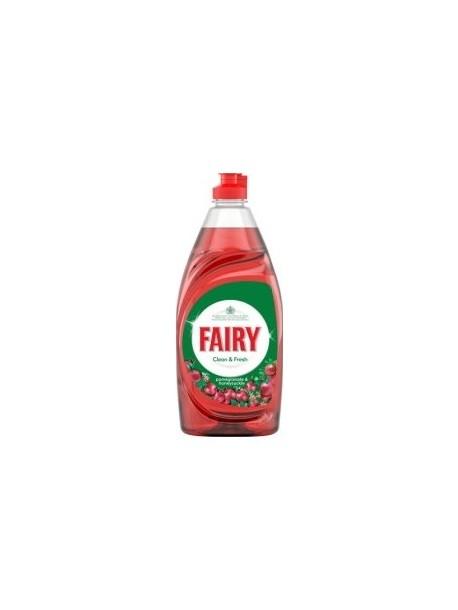 Фери Чистый & Fresh жидкость для мытья посуды Гранат и Жимолость 520мл.