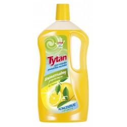 Универсальная жидкость для мытья Tytan лимон 1л