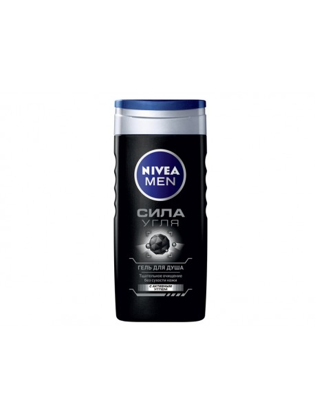 "Гель для душа ""Сила угля"" Nivea Men Shower Gel"