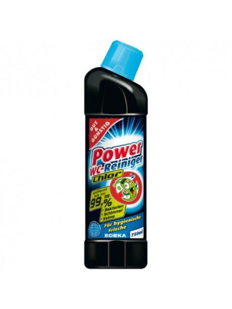 Средство для мытья унитазов G&G Power WC Chlor 750мл