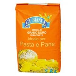 """Мука Семола Ca' Bianca """"Для пасты и хлеба"""" 5 кг"""