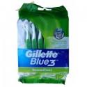 Gillette Blue 3 SenseCare Набор одноразовых станков для бритья (12 шт) Колумбия