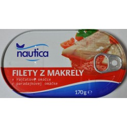 Филе макрели Nautica в томатном соусе - 170 г