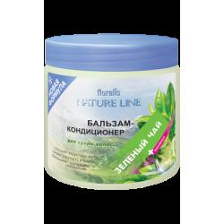 Серия Nature Line Бальзам-кондиционер «Зеленый чай» для сухих волос 500мл