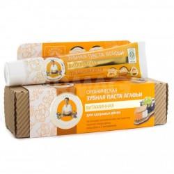 Витаминная зубная паста Рецепты бабушки Агафьи 75мл