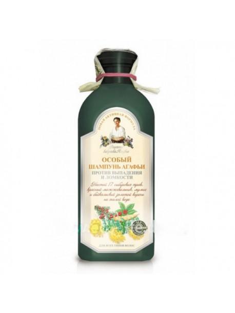 Особый шампунь Агафьи против выпадения и ломкости Рецепты бабушки Агафьи 350мл