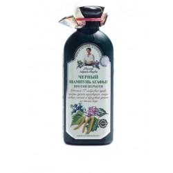 Черный шампунь Агафьи против перхоти Рецепты бабушки Агафьи 350мл