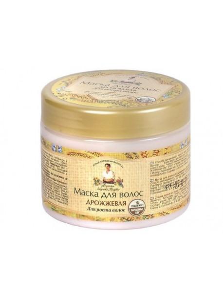Маска для волос Дрожжевая Рецепты бабушки Агафьи 300мл