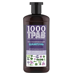 "Шампунь для окрашенных волос ""Восстанавливающий"" 1000 трав 500мл"