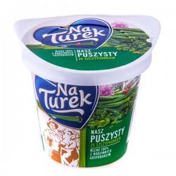 Сыр творожный с зеленым луком NaTurek NASZ PUSZYSTY 140г.