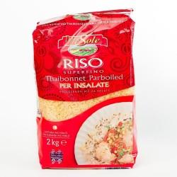 Рис пропарений Delizie dal Sole Riso 2кг