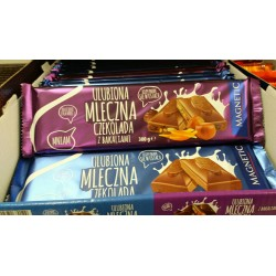 Шоколад Ulubiona mleczna czekolada 300г Польша