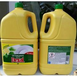Моющее средство для посуды dexal limone 3л Италия.