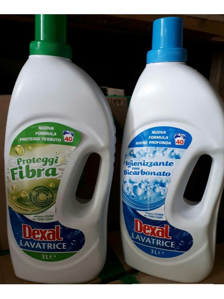 Гель для стирки dexal lavatrice proteggi fibra 3 л Италия