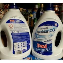 Гель для стирки dexal lavatrice classico superbianco 3л Италия
