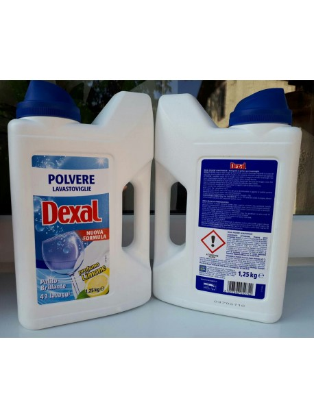 Гель для посудомоечной машины Dexal polvere lavastovigie 1.25кг