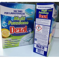 Таблетки для ПММ DEXAL бесфосфатные, мульти-комплекс, 100 шт, Италия