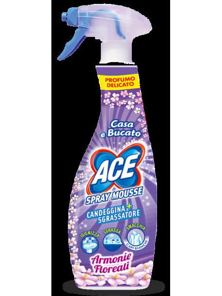 Универсальный очиститель для дома Ace Spray Mousse 700л Италия