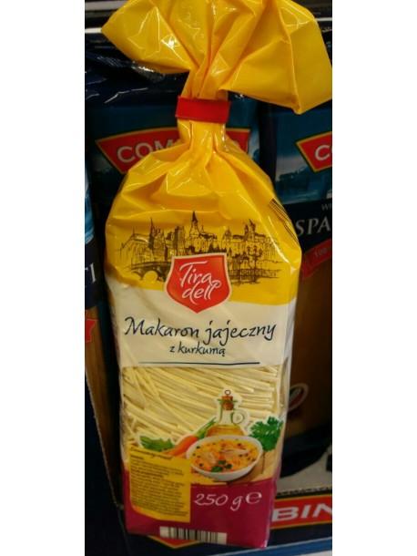Макаронные изделия Tira dell Macaron 0,25 кг.(Польша).