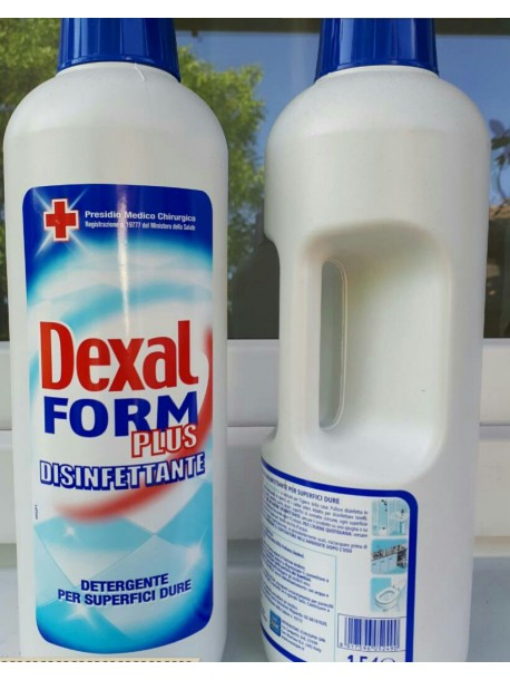 Средство для пола Dexal Form plus disinfettante 1,5л