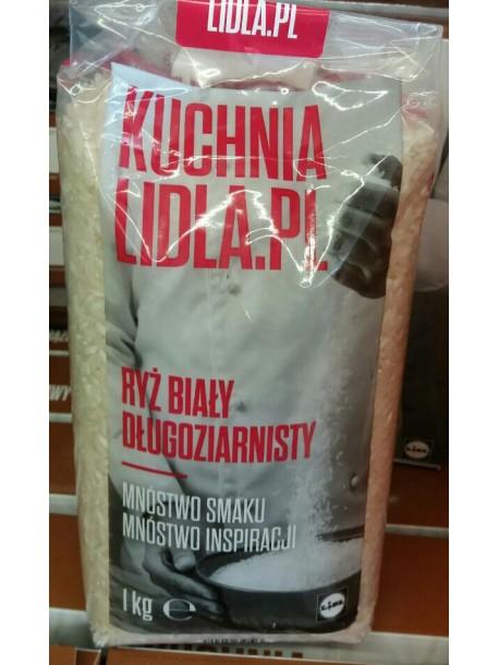Рис белый kuchnia lidla/pl ryz bialy 1кг Польша