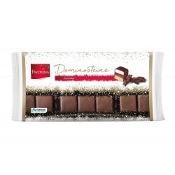 Favorina, конфеты домино в темном шоколаде, 250г