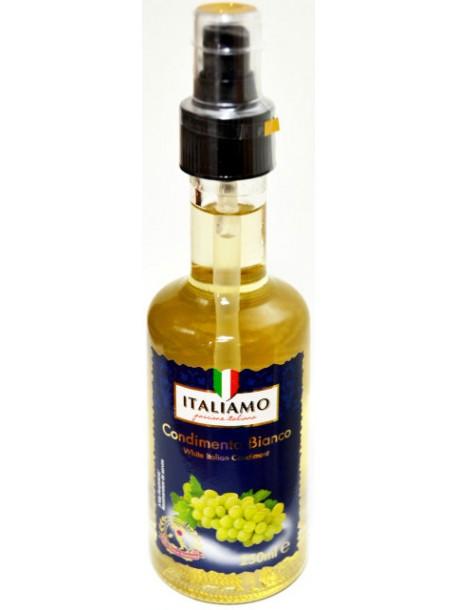 Винный уксус из светлого винограда (спрей) Italiamo Condimento Bianco 250ml.