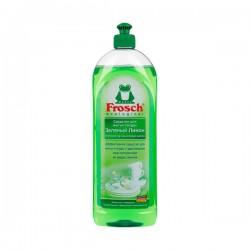 FROSCH Очищающий бальзам-гель для посуды Зеленый Лимон 1 л