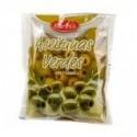 Оливки зеленые Baresa 160г без косточки мягкая упаковка