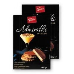 Печенье с сабайоном в шоколаде Admiralki 180г.