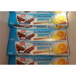 Шоколадные палочки Czekoladowe Paluszki 150 гр.