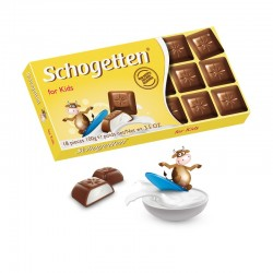 Шоколад Schogetten for Kids With Milk молочный 100 г