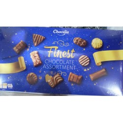Конфеты chocola finest chocolate assortment 400г Италия