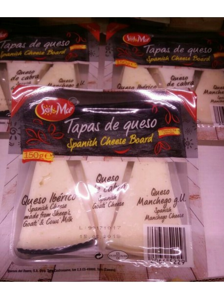 Набор испанских сыров sol mar taras de queso spanish cheese board 150г