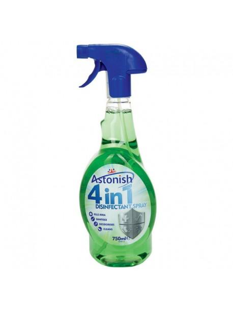 Средство для дезинфекции в доме Astonish 4 in 1 Disinfectant Spray