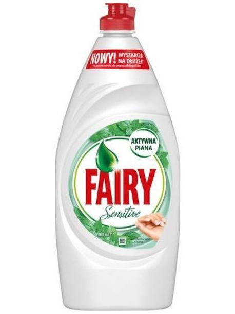 """Средство для мытья посуды Fairy Sensitive """"Чайное дерево и мята"""", 450 мл"""