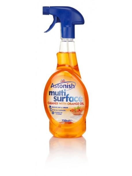 """Универсальный спрей для чистки """"Апельсин"""" Astonish multi surface Cleaner 750 мл"""
