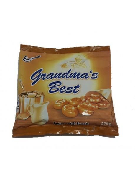 Карамель кремовая Grandmas Best, 200 гр