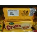 Крекер соленый crusti croc cracks 100г