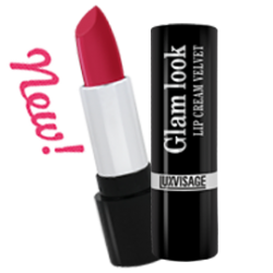 Губная помада Glam look cream velvet LuxVisage
