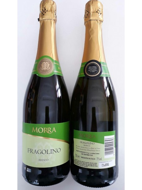 Вино Фраголино Морра белое Fragolino Morra Bianco 0,75л