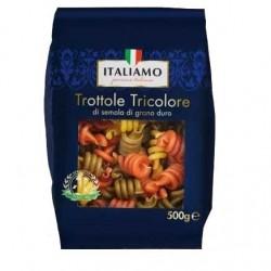 Italiamo Trottole Tricolore Макароны разноцветные 500 гр