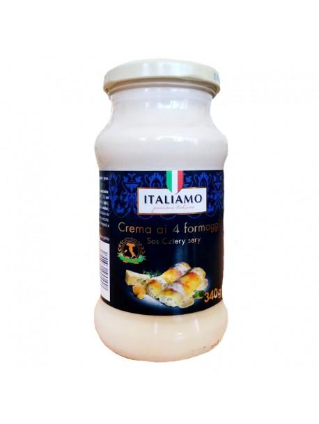 Соус сырно-сливочный 4 сыры Italiamo 340г