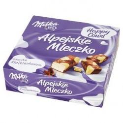 Конфеты Milka птичье молоко шоколадное Alpejskie Mleczko 330гр Швейцария