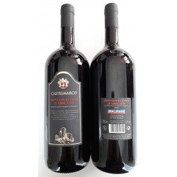 Вино красное сухое Montepulciano D'Abruzzo Castelmarco (Монтепульчано Д'Абруццо) 1.5L