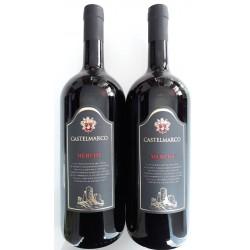Вино красное сухое Merlot Veneto Castelmarco (Мерлот Венето) 1.5L