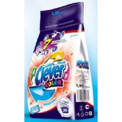 CLEVER COLOR порошок д/прання 1,95 кг п/е